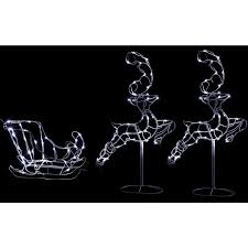 outdoor reindeer christmas decorations christmas lights decoration