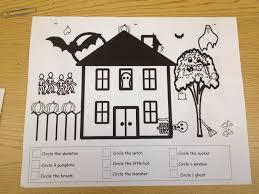 Halloween Printable Activities Autism Tank More Halloween Worksheets