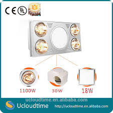 Bathroom Ceiling Light With Heater by Infrared Bathroom Heater Wall Mounted Infrared Bathroom Heater