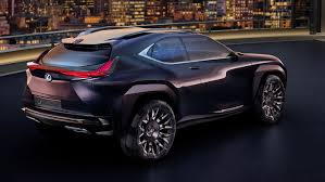lexus ux suv concept paris lexus ux concept breaks cover to slot below nx gets holographic
