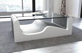 Xxl Wohnzimmer Tisch Leder Wohnzimmertisch Frankfurt Mit Glasplatte