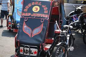 pedicab philippines the quiapo local market in central manila philippines travels