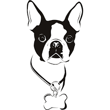 lime slice silhouette boston terrier silhouette clipart free clip art images bt