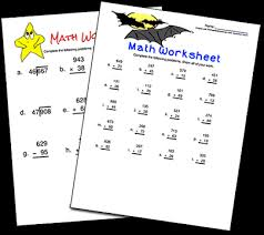worksheets in math printable math worksheets