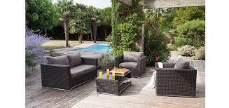 canapé de jardin design les salons de jardin design du moment à prix réduit