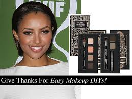 3 effortless inspired thanksgiving makeup ideas