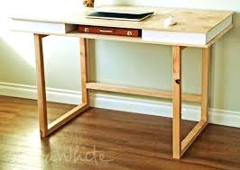 Modern Desk With Drawers How To Build A Desk With Drawers It Guide Me