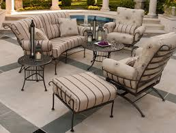 Patio Wrought Iron Furniture by Outdoor Patio Cushions For Wrought Iron Chairs Home Design Ideas