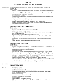 family nurse practitioner resume templates pediatric nurse practitioner resume sles velvet jobs