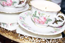 tea cup candle diy teacup candles y girl