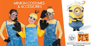 Despicable Minion Costume Despicable Minions Party Supplies Minions Birthday Ideas