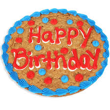 cookie cake delivery happy birthday cookie cake by gourmetgiftbaskets