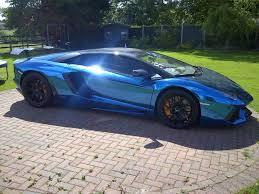 chrome blue lamborghini aventador lamborghini aventador blue here aventador bleue