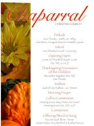 thanksgiving church bulletin download sunday bulletin for chaparral christian church docshare
