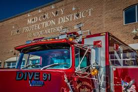 tonka mighty motorized fire truck mid county fire protection district dive team on national