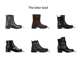 style motorcycle boots the biker boots edit 12 biker boots to lust after style barista