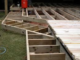 Building Wrap Around Deck Stairs Round Designs