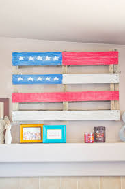 Pallet American Flag Diy American Flag Pallet A Patriotic Craft Our Holly Days