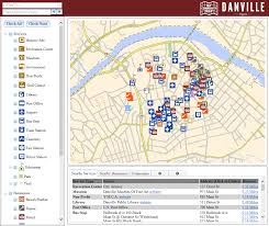 Virginia Area Code Map by Maps Danville Va Official Website