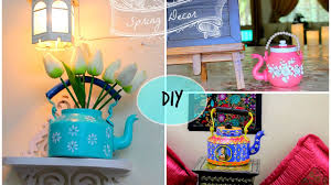 diy home decor ideas i kettle painting u0026 kettle making using waste