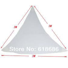 Triangle Awning Canopies Aliexpress Com Buy Waterproof Triangular Patio Sun Shade Sail