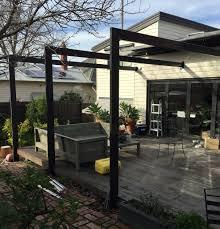 slat pergola exterior and landscaping pinterest pergolas