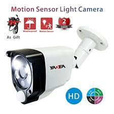 motion light security camera amazon com motion sensor camera 2 0mp 1080p wired hd tvi cvi ahd