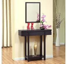 console table and mirror set entryway table and mirror set entryway table and mirror set black