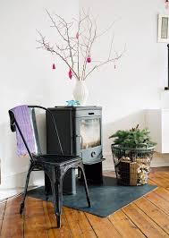 idee deco pour grand vase en verre déco noël à faire soi même en branches adopter les accents nordiques