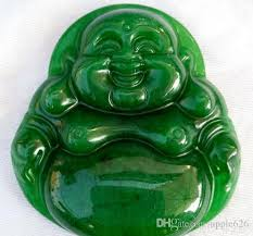 natural jade necklace images Wholesale 100 natural burmese jade happy buddha luckly jade jpg