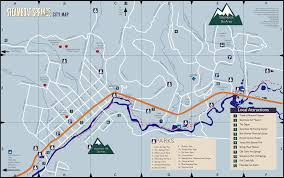 Beaver Creek Colorado Map by Steamboat Map Steamboat Springs Lodging U0026 Accommodations