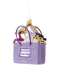 landmark creations bergdorf goodman shopping bag ornament