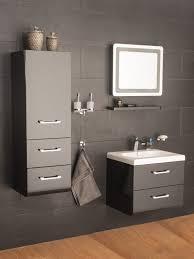 möbel für badezimmer mybath badmöbel set genoveva 60 cm grau links ebay