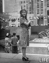 beautiful girls in new york circa 1944