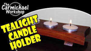 can you use tea light candles without holders how to make a tealight candle holder easy diy woodworking project