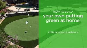 Making A Backyard Putting Green Build Your Own Green Home Home Design
