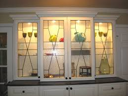 rustic glass kitchen cabinets cabinet panels mclean stained glass studios