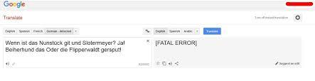 tried to translate the deadliest joke in the world from monty
