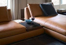 Picture Of A Sofa Walter Knoll To Present Sofa With Integrated Accessories At Milan