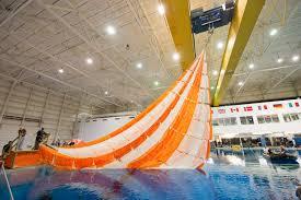 testing sub scale parachutes for nasa u0027s orion spacecraft nasa