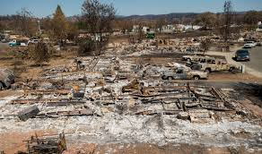Wildfire Anderson Ca by Scope Of Devastation Clearer As Wildfire Evacuees Return The Blade