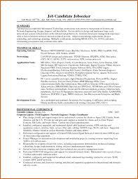 sample resume of network engineer senior network engineer sample