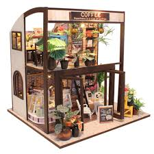 online get cheap miniature house coffee shop aliexpress com