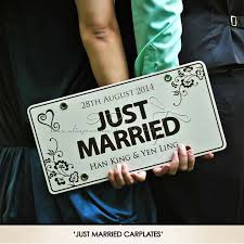 wedding backdrop taobao free shipping personalized car plate wedding car decoration