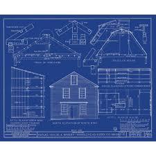 Free House Blue Prints by A Blueprint Of A House 1907 Likepict