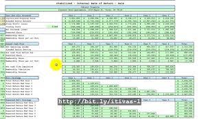 Tax Spreadsheet Proformastabilized Spreadsheet Syndication Package Tutorial1