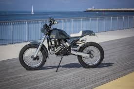 this rickman metisse is a husaberg in disguise scrambler rat