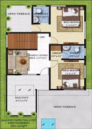 south facing house floor plans 40 x 50 house plans south facing