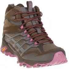 merrell womens boots uk merrell moab fst mid tex walking boots brown start