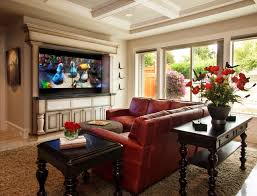 red leather sectional houzz